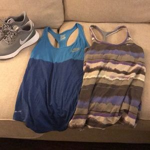 2 for 1 — Nike workout tank tops